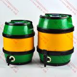 德尔丰全塑鼓形啤酒桶B5L10L