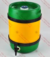 德尔丰柱形全塑啤酒桶C20L