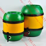 德尔丰全塑圆形格瓦斯专用保鲜桶B5L10L