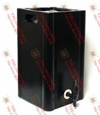 德尔丰内钢外塑方形加厚啤酒桶F5L