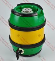 德尔丰内钢外塑鼓形啤酒桶B5L10L