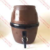 德尔丰鼓形全塑木纹啤酒桶M5